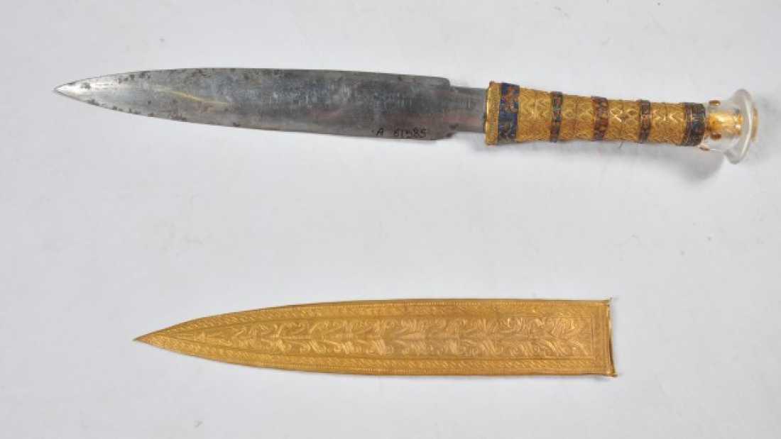 King Tutankhamun's Dagger Made from Meteorite